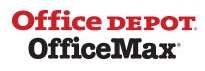 Office Depot logo and link